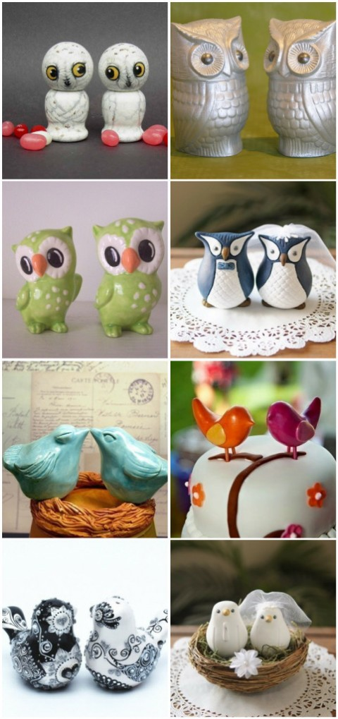 Weddingbirdtoppers